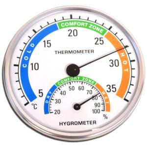 El higrometro para medir el grado de humedad