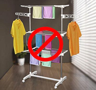 tender ropa fuera para bajar la temperatura en casa